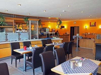 Café am Holzhafen, Frühstücksraum